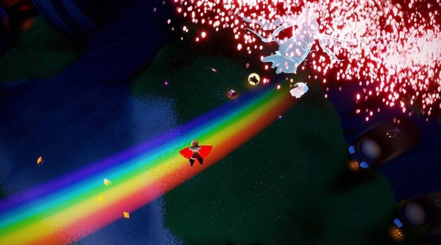光遇站在彩虹上攻略